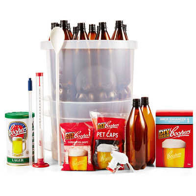 Coopers DIY Beer Brew Kit homemade do it yourself home made