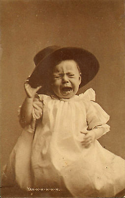 early 1900s crying baby ! yah -h -h -h -h-h