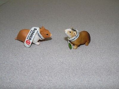 Schleich Guinea Pig/Hamster Set Pet Life Figure Toy W/Tag