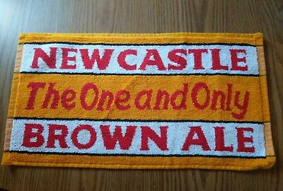 (Look) Newcastle Brown Ale Beer 4 different bar pub towels game room man cave
