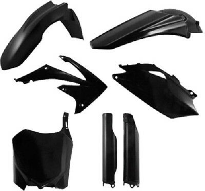 Acerbis Full Plastic Kit Honda Black CRF250R/450R 2010-2012