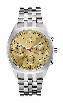 Bulova Accutron II Men's 96B239 Surveyor Quartz Chronograph Bracelet 41mm Watch