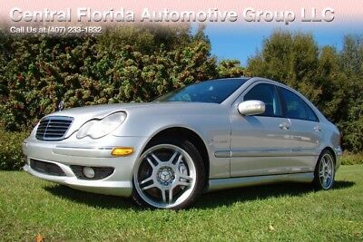 2003 Mercedes-Benz C-Class Base Sedan 4-Door 2003 MERCEDES-BENZ C 32 AMG WITH ONLY 36K ORIGINAL MILES! SUPERB CONDITION!