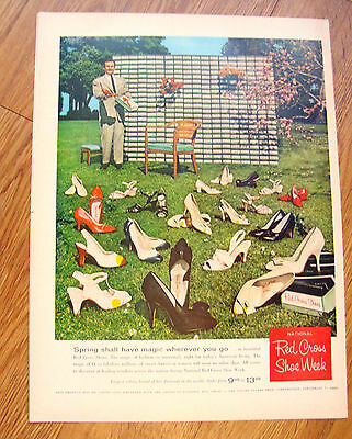 1959 Red Cross Shoes Ad