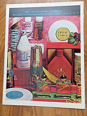 1963 Old Spice Ad & Booklet  Christmas Gifts