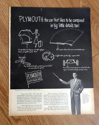 1949 Plymouth Ad  Tremendous Trifles