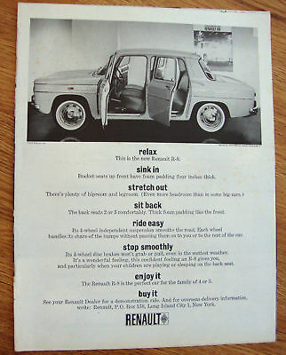 1963 Renault R-8 Ad