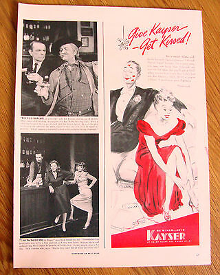 1939  Kayser Marvel-Twist Hosiery Stockings Ad