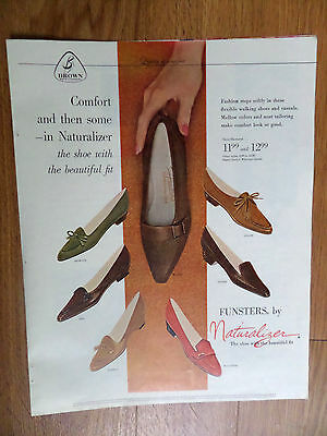 1961 Naturalizer Shoes Ad  Funsters