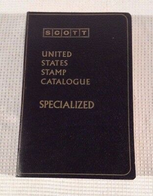 1976 SCOTT Specialized Catalogue of United States Stamps 45th Edition Book