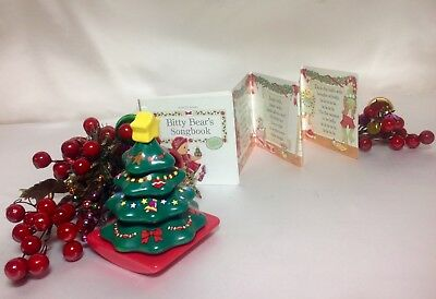 """ROCKING TREE TOY and SONGBOOK~Authentic~From Bitty Baby/'s /""""Santa/'s Helper Set/"""""""