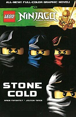 Lego Ninjago Vol.7 - Stone Cold by Jolyon Yates Book The Cheap Fast Free Post