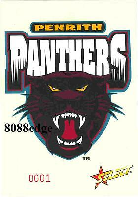 2005 Select Nrl Club Logo Jumbo Card: Penrith Panthers-Limited Edition 1 Of 1500