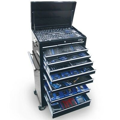 SP TOOLS 307pc Tool Set 15 DRAWER Tool Box Roller Cabinet Mechanic SP50105