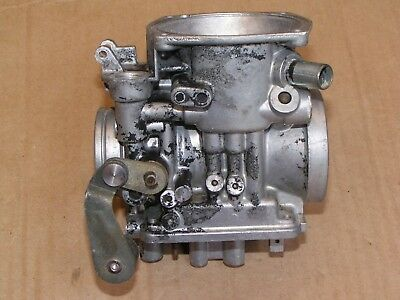 83 YAMAHA VIRAGO Xv750 Xv 750 Midnight Hitachi Carb Carburetor Front Body