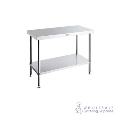 Workbench Island with Undershelf 1800x900x900mm Simply Stainless Kitchen Prep