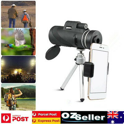 40X60 HD HD BAK4 Monocular Night Vision Optic Lens Telescope with Tripod