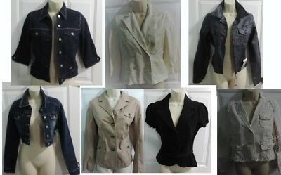 NWT Brand Name $500+ Retail Wholesale Lot Resell Ladies Blazers Jackets
