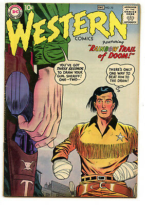 JERRY WEIST ESTATE: WESTERN COMICS #72 (DC 1958) FN condition!