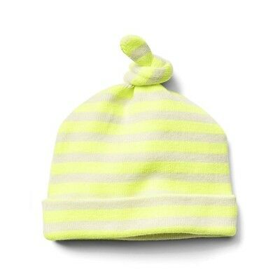 Baby Gap Boy Disney Dumbo Knot Hat Striped Neon Yellow Sweater 3-6 Months  NWT a96fc0fa9ca9