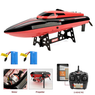 High Speed 2.4G Remote Control Racing Boat Brushless Electric RTR Self Righting
