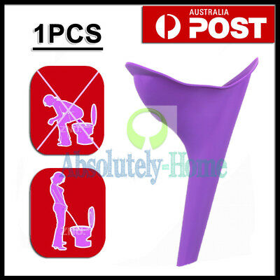 Camping Female Her She Urinal Funnel Ladies Woman Urine Wee Loo Travel Portable