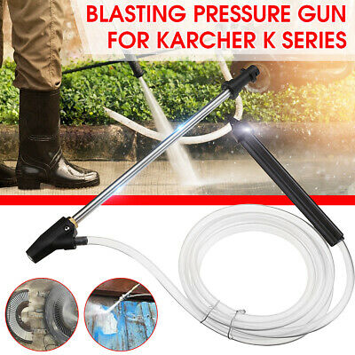 Pressure Washer Gun Sand Blasting Wet Hose Nozzle Blaster For Karcher K Series