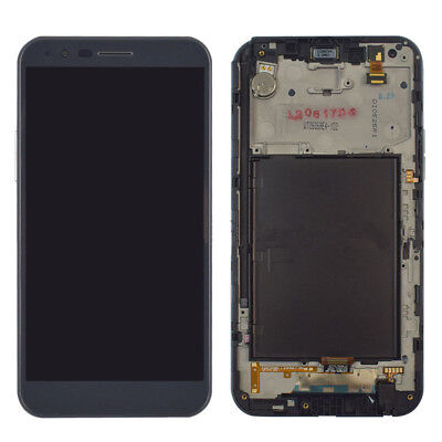For LG Stylo 3 Plus TP450 MP450 Touch Screen Digitizer LCD Display + Frame Gray
