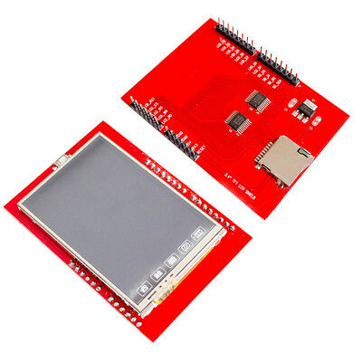 "2.4"" TFT LCD Display Shield Touch Panel ILI9341 240X320 for Arduino UNO MEGA HQ"