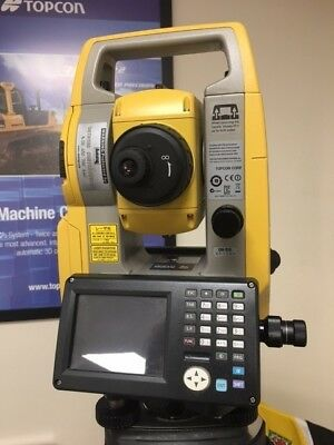 Topcon Os-103 Total Station. Hire Fleet Demo Machine Mint Condition, Not A Mark