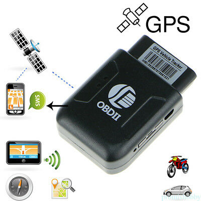 Car Vehicle Auto GPS Real Time Tracker PVC OBD-2 Tracking Device GSM GPRS YH