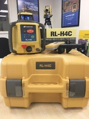 Topcon RL-H4C Laser Level with LS-80L Receiver, Rechargable Bat  £499.00 + vat