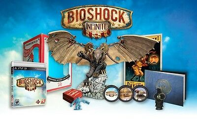 Bioshock Infinite ultimate Songbird collectors edition PS3 USA NEW & SEALED
