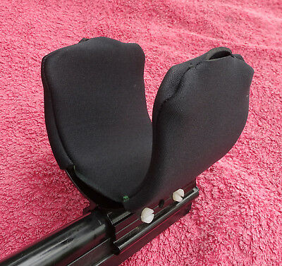 Armcup Cover-Black Neoprene-For Use With Minelab Metal Detector