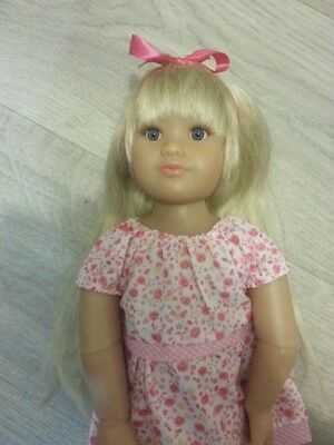 Beautiful Blonde Kidz n Cats Marina?? Articulated Doll. Great condition.