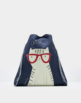 Joules Active Drawstring Bag in Cat in One Size