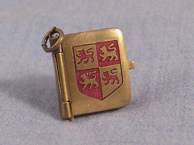 TINY ANTIQUE MINIATURE PHOTOGRAPH LOCKET PICTURE BOOK CHARM LLANDUDNO c1900