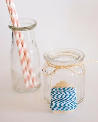 White & Blue Bakers Twine 5m   Cotton Baker's   Wedding   Favours   DIY   Craft