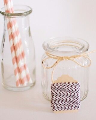 White & Brown Bakers Twine 5m   Cotton Baker's   Wedding   Favours   DIY Craft