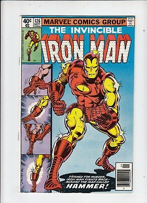 Iron Man #126 NM-   (Marvel 1979) Michelinie/Layton/Romita Jr.!