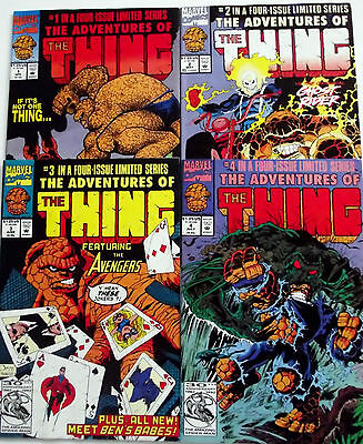 ADVENTURES OF THE THING 1,2,3,4 (1-4)...NM-...1992...Marvel 2-in-1 Reprints...