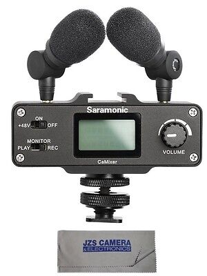 Saramonic CaMixer Microphone Kit for DSLR Cameras and Camcorders with Cloth