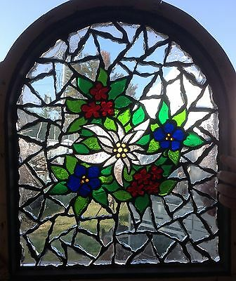 Mosaic Chunck Stained Glass Window