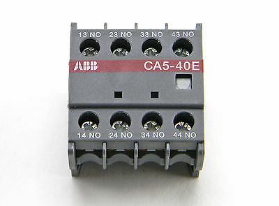 New Abb Ca5-40E Contactor Auxiliary Contact A600 Q300