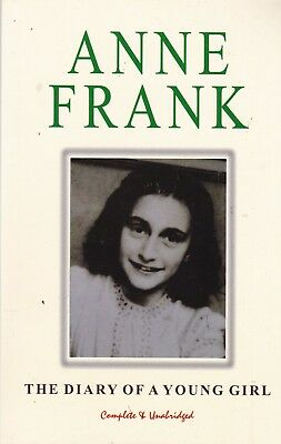 The Diary of Anne Frank, Complete and Unabridged, Paperback, New Book