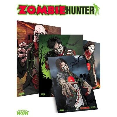 Zombie Hunter Archery Target Faces - Various Designs - (Qty 1)