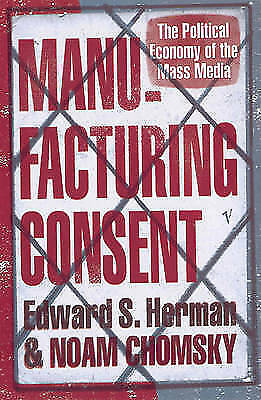 Manufacturing Consent by Edward S. Herman, Noam Chomsky (Paperback) New Book