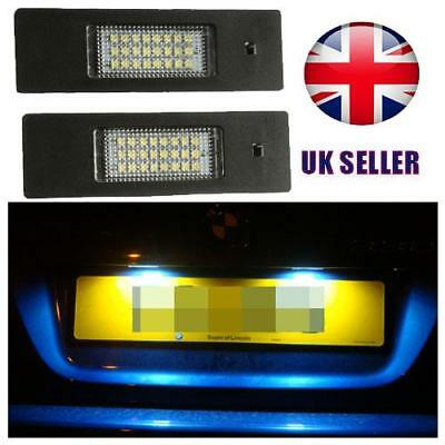 LED License Number Plate Light Fits  E81 E87 E63 E64 E85 E86 E89 Z4