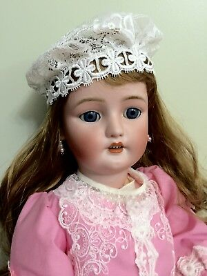 Antique Bisque Doll Simon & Halbig Handwerk On A Comp Body 25""