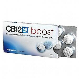 Chefaro Pharma CB12 Boost 10 Chewing-Gum 20 g